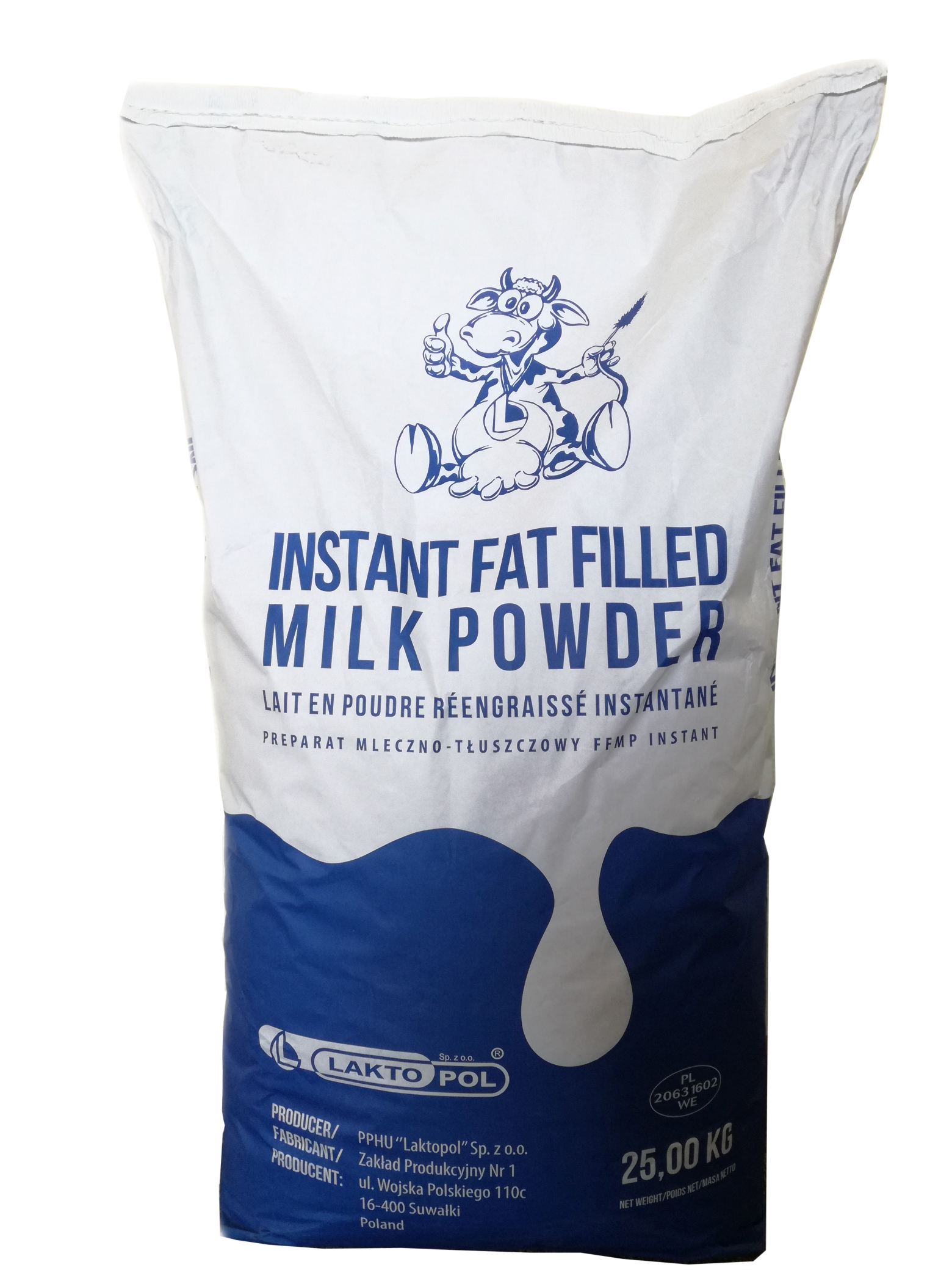 Proszek mleczny fat filled milk powder